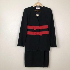 Carolina Herrera Studio Vintage Dress Suit